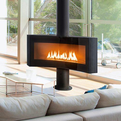 Focus Fireplaces Curvifocus