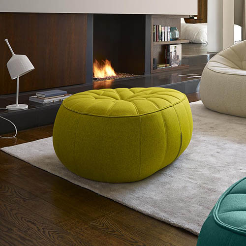 ligne roset ottoman footstool ex display hearth cook. Black Bedroom Furniture Sets. Home Design Ideas