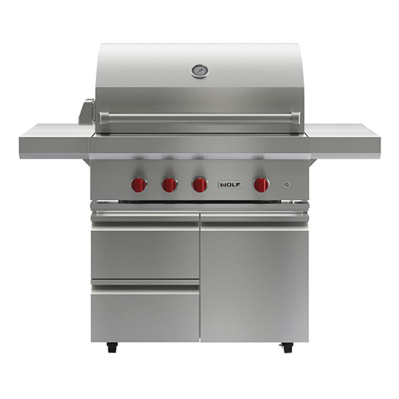 Wolf Outdoor Grill - 91cm