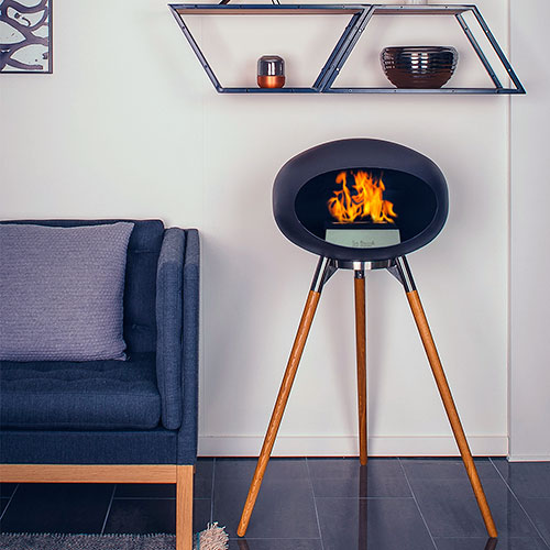 Le Feu Ground Wood Black Oak