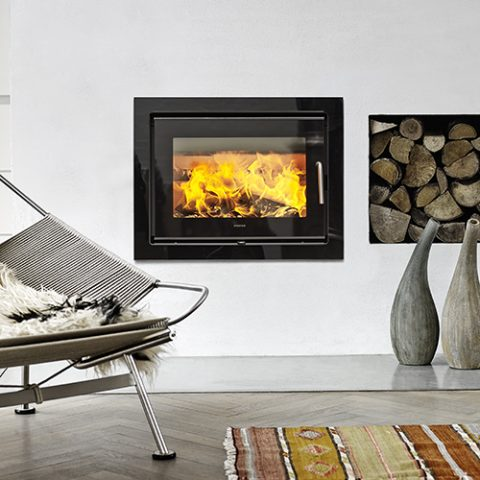 MORSØ 5660 Insert wood burning stove