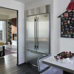 Sub-Zero French Door Refrigerator Freezer