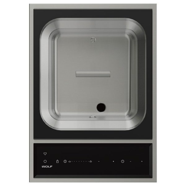 Wolf 381mm Transitional Electric Steamer Module